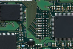 Integre o circuito imagens de stock