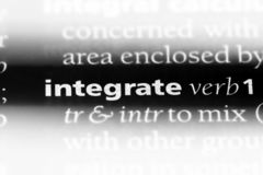 integreer stock fotografie