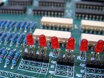integrerad strömkrets Royaltyfria Foton