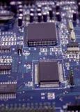 integrerad strömkrets 3 Fotografering för Bildbyråer