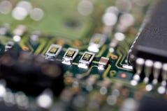 integrerad strömkrets Arkivfoto
