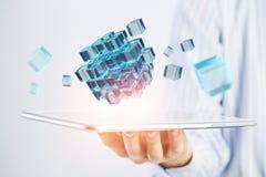 Integrerende nieuwe technologieën Stock Foto's