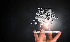 Integrerende nieuwe technologieën Royalty-vrije Stock Foto
