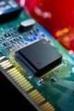 Integrierte Schaltung lizenzfreie stockfotografie