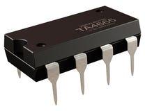 Integrierte Schaltung oder 8 stecken Mikrochip und neue Informationstechnologien fest stockbilder