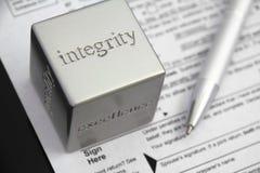 Integrità Immagine Stock