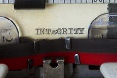 Integriteit stock afbeelding