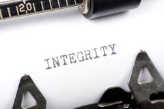 Integrity Royalty Free Stock Images