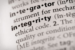 Integrity Stock Photography