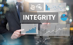 INTEGRITY   Ethics Loyalty Moral Motivation Stock Image