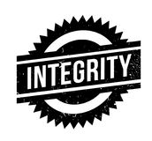 Integrity rubber stamp Stock Photography
