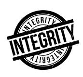 Integrity rubber stamp Royalty Free Stock Photos