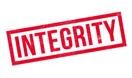 Integrity rubber stamp Royalty Free Stock Photography