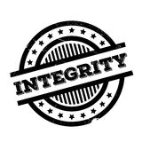 Integrity rubber stamp. Grunge design with dust scratches. Effects can be easily removed for a clean, crisp look. Color is easily changed Stock Photo