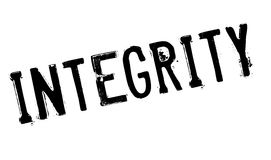 Integrity rubber stamp Stock Images