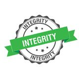 Integrity stamp illustration. Integrity stamp seal illustration design Royalty Free Stock Photos