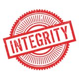 Integrity stamp rubber grunge Stock Images