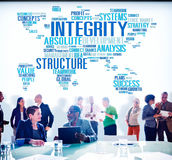 Integrity Structure Service Analysis Value Service Concept.  stock photography