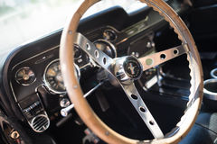 Inteior 1967 Ford mustang GT Zdjęcie Royalty Free