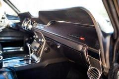 Inteior van 1967 Ford Mustang GT Stock Afbeelding