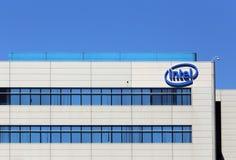 Intel światu kwatery główne Fotografia Royalty Free