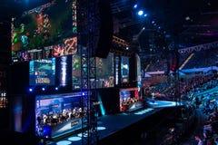 Intel ekstremum Ćwiczy 2014, Katowicki, Polska Zdjęcie Royalty Free