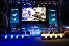 Intel ekstremum Ćwiczy 2014, Katowicki, Polska Zdjęcie Stock
