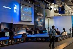 Intel en el CeBIT 2011 Fotos de archivo