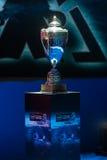 Intel Extreme Masters 2014, Katowice, Poland. Intel Extreme Masters Cup at IEM 2014, 14th - 16th March, Katowice Poland, vertical Royalty Free Stock Image