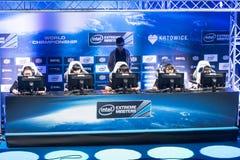 Intel Extreme Masters 2014, Katowice, Poland Royalty Free Stock Photos