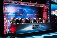 Intel Extreme Masters 2014, Katowice, Poland Stock Images