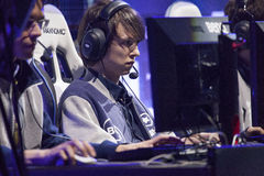 Intel Extreme Masters 2014 Stock Photography