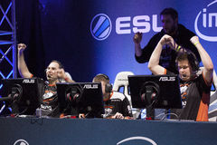 Intel Extreme Masters 2014 Royalty Free Stock Images