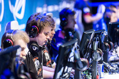 Intel Extreme Masters 2014, Katowice, Poland Royalty Free Stock Images