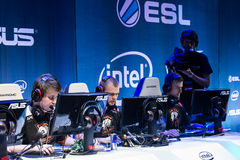 Intel Extreme Masters 2014, Katowice, Poland Royalty Free Stock Images