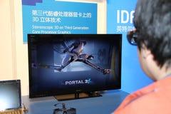 Intel IDF 2012 Lizenzfreie Stockfotos