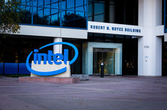Intel Museum Royalty Free Stock Photography