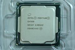 Intel Pentium G4560 CPU Stockfoto