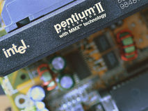 Intel pentium II Royalty Free Stock Photography