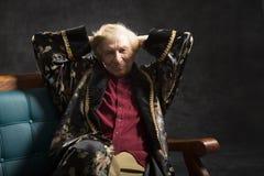 Intelektualny stary człowiek Obrazy Stock
