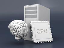 Inteligência artificial Foto de Stock
