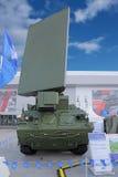 A inteligência do sistema do radar da artilharia posiciona foguetes e artill Fotografia de Stock Royalty Free