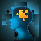 Inteligencia ilustración del vector