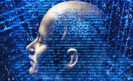 Inteligencia artificial fotografía de archivo libre de regalías