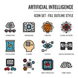 Inteligencia artificial libre illustration