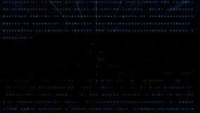 Inteligencia artificial azul AI de Tron con el fondo de los rayos ligeros stock de ilustración