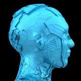 Inteligencia artificial y robótica Foto de archivo