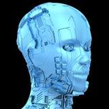 Inteligencia artificial y robótica Imagenes de archivo