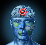 Inteligencia financiera Imágenes de archivo libres de regalías