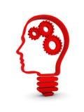 Inteligencia humana Imágenes de archivo libres de regalías
